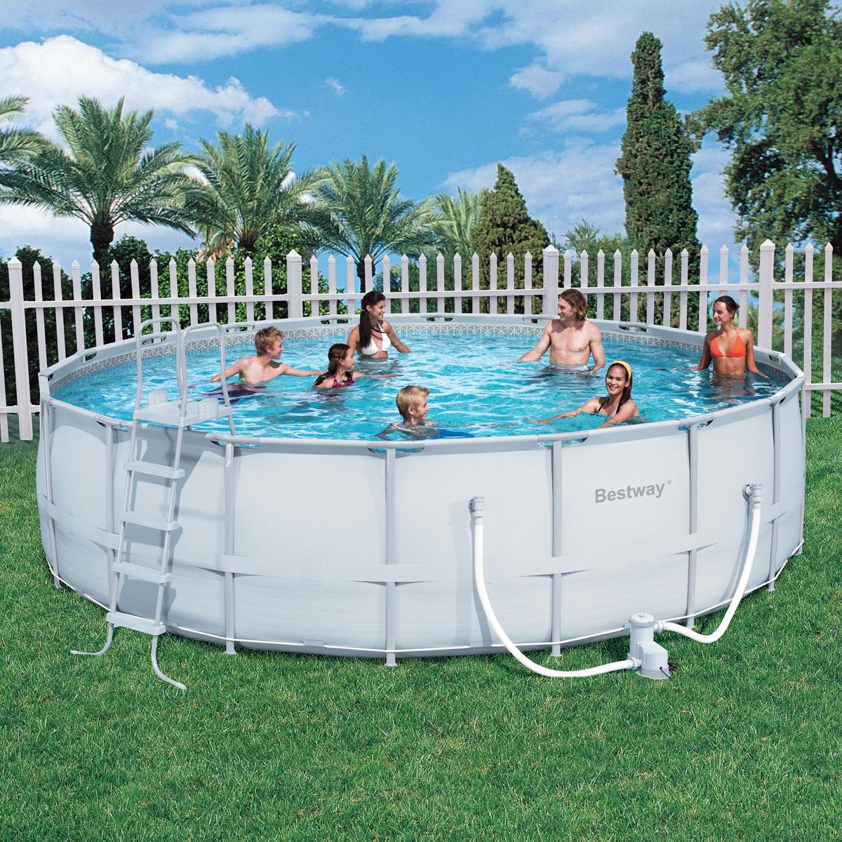 инструкция по сборке каркасный бассейн