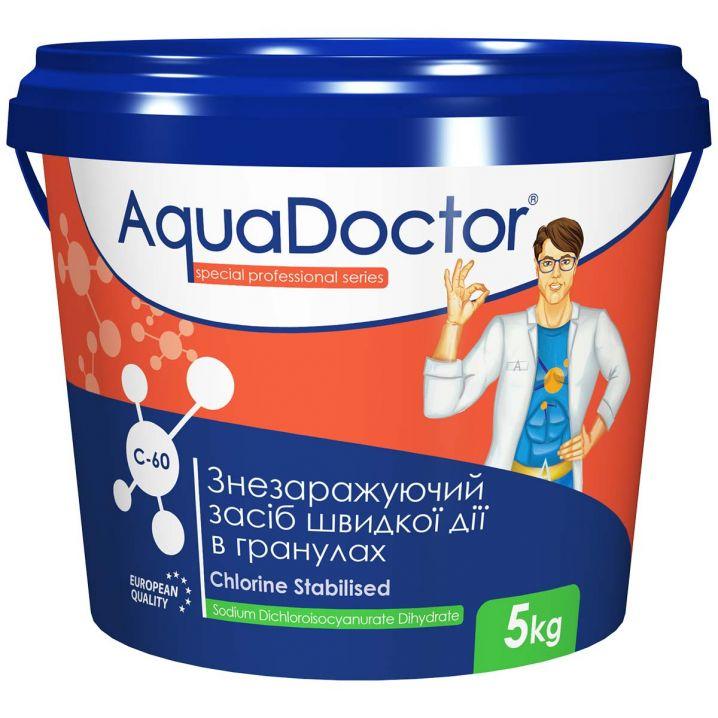 Хлор AquaDoctor C-60 5 кг в гранулах