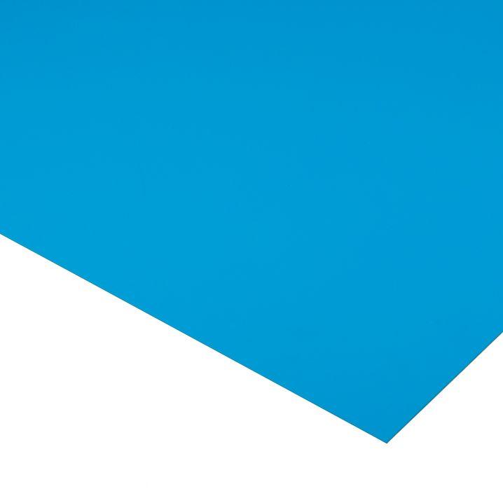 Профильный лист Cefil ПВХ голубой