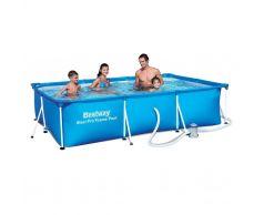 Детский каркасный бассейн Bestway 56411 (300x201x66 см)