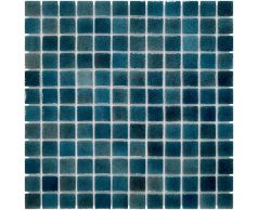 Мозаика стеклянная Aquaviva Dark Blue