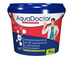 Хлор AquaDoctor C-60T 4 кг в таблетках