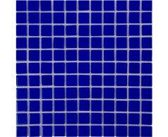 Мозаика стеклянная Aquaviva Сristall кобальт светлый