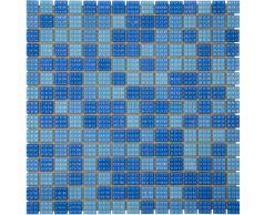 Мозаика стеклянная Mix Jamaika светлая A07N(2)+A08N(2)+B30N(2)