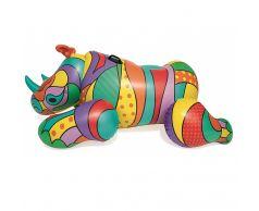 Круг для плавания Bestway 41116 Поп-арт носорог (201х102 см)