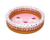 Детский надувной бассейн Bestway 51144 Мороженое с фруктами (160х38 см)