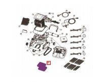 Дополнительный фильтр мелких частиц для пылесоса Aquaviva Black Pearl 7310 (71170), 1 шт.