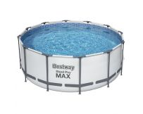 Каркасный бассейн Bestway 56420 (366х122 см) с картриджным фильтром, тентом и лестницей