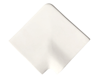 Белый угловой камень Aquaviva
